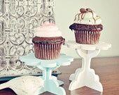 DIY Cupcake stand kit. Set of 2. Paint your own color(s) terhirosie DIY und Kunsthandwerk