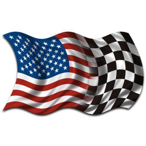 checkered American flag