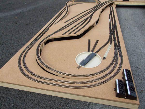 Wiring Diagram For Hornby Turntable : Best track plan images on pinterest model train