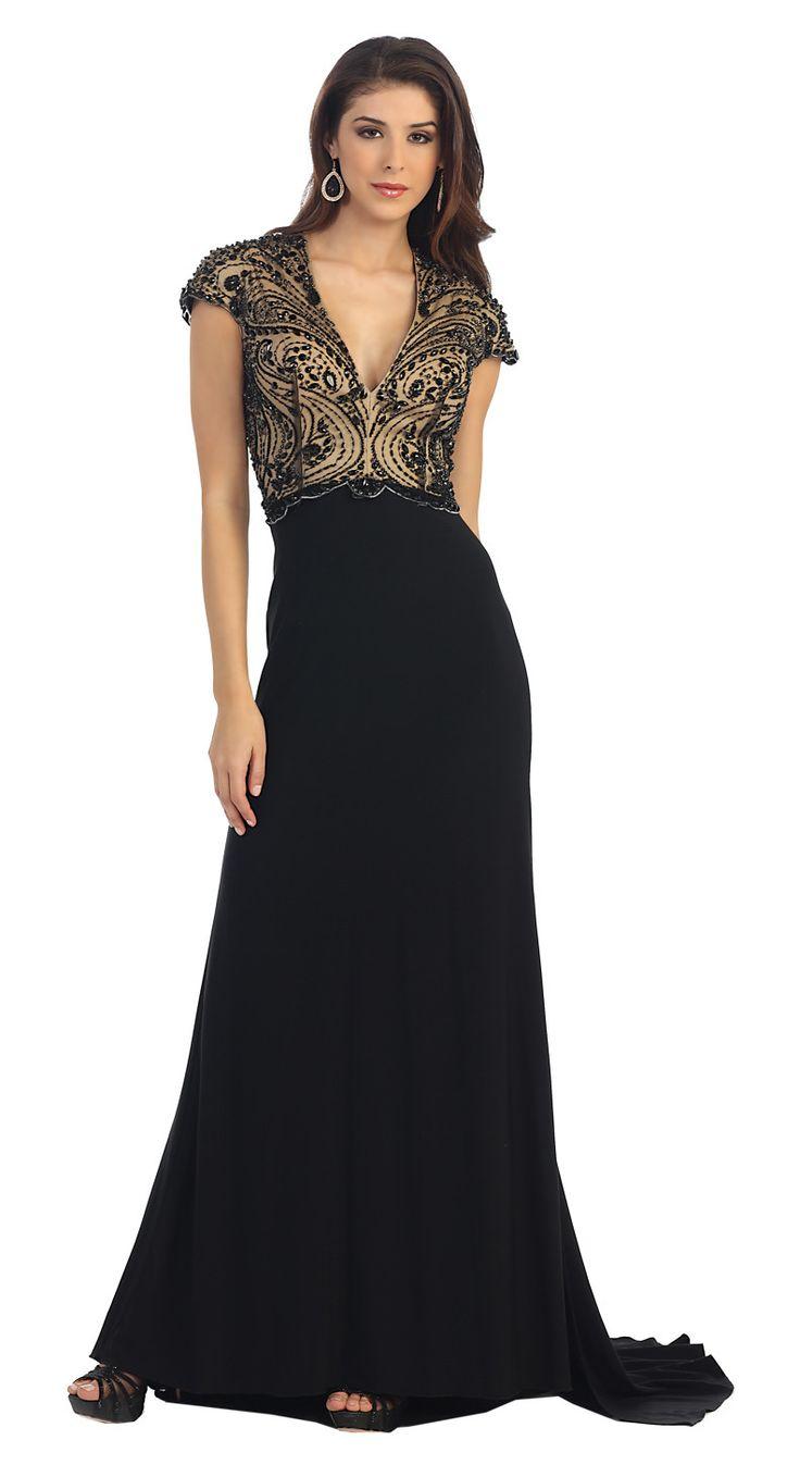 MQ7116 – Genesis Bridal Lace and chiffon dress.