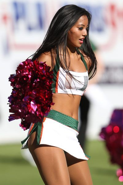 Miami Hurricanes Cheerleader | NCAA University of Miami, FLA ...