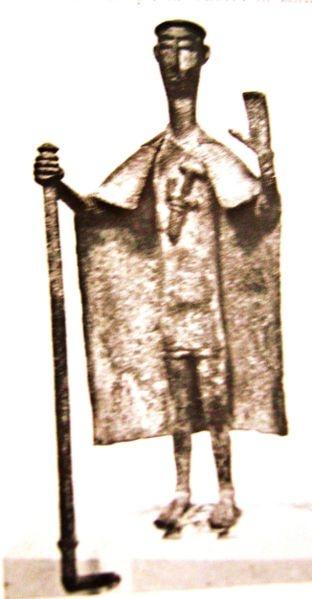 Bronzetto sardo Capo tribù #Sardegna #Italy