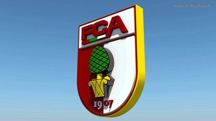 3D Logo FC Augsburg 4K - YouTube