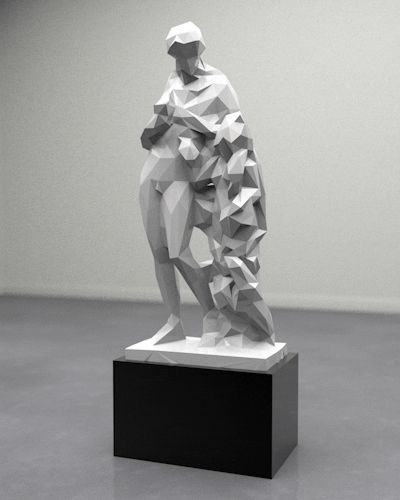 Shape-Shifting GIFs of Fine Art Sculptures - My Modern Metropolis