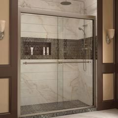 Choose the perfect solution for a bathroom remodel or tub-to-shower conversion project with a DreamLine shower kit. This kit includes...