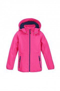 giacca softshell bambino con cappuccio staccabile -KRISTAR-