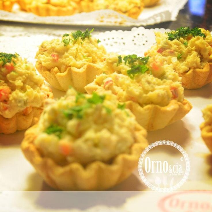 Tartaletas de ensaladilla - http://ornoandcompany.blogspot.com.es/