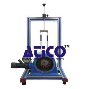 Demonstration Pelton Turbine Manufacturer Supplier : This accessory comprises a miniature Pelton wheel with spear valve arrangement mounted on a support frame which locates on the Hydraulics Bench top channel. Mechanical output from the turbine is absorbed using a simple friction dynamometer. Pressure at the spear valve is indicated on a remote gauge.   https://www.aticoexport.com/products/demonstration-pelton-turbine/   more information…