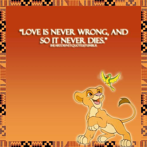 Love Will Find A Way Quotes: 1000+ Ideas About Lion King Tattoos On Pinterest