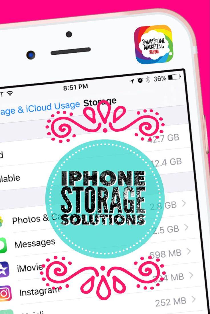 How to free up more storage on your iPhone - free spring cleaning checklist included in the Smartphone Marketing School tutorial to help you get the storage you need for more photos and videos.