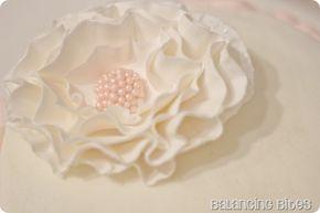 Ruffled Gum Paste Flower