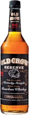 Old Crow Reserve - Beam Global - a damn good Bourbon ... always have a bottle on-hand. Also love the bottle/label!
