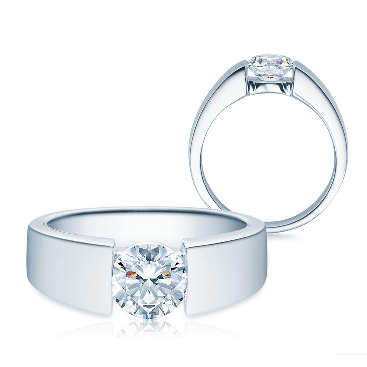 Verlobungsring Diamant 585 Gold 1,00 ct Tw/si Gold #jewelry #jewels #jewel #fashion #gems #gem #gemstone #bling #stones #stone #trendy #accessories #love #crystals #beautiful #ootd #style #fashionista #accessory #instajewelry #stylish #cute #jewelrygram #fashionjewelry #verlobungsring #engagementring #engagement #verlobungsringe #trauringeschillinger #wedding #weddingrings #diamantring #trauringe #eheringe