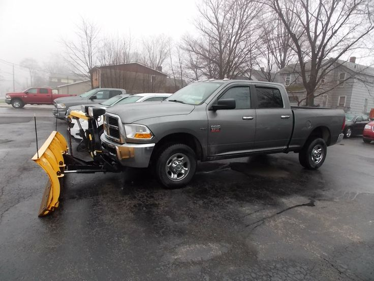 2010 #Dodge #Ram 2500 SLT - #Snow Plow!
