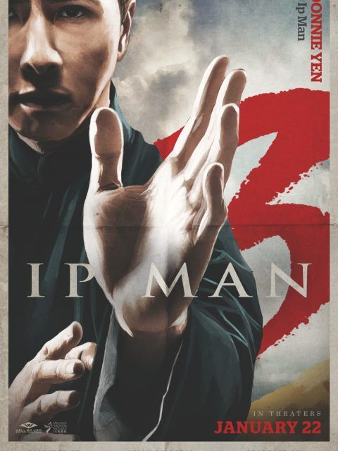 Ip Man 3... another great movie! God that one guy who was trying to be the grandmaster was a cocky pain in the ass!