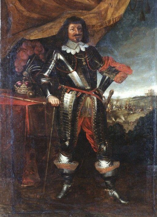Lietuvos didžiojo kunigaikščio ir Lenkijos karaliaus Vladislovo Vazos (1595–1648) portretas, po 1632. Muziejus rūmai Vilanove. / Portrait of Grand Duke of Lithuania and King of Poland Władysław IV Vaza (1595–1648), after 1632. Palace in Wilanów.