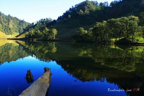 #Ranukumbolo #Lake - Semeru Mountain