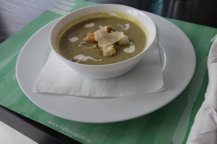 Supa crema de broccoli Helios Sport