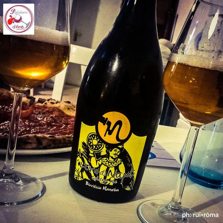 """Birra?....Parliamone! L'Oro di Napoli, birrificio artigianale """"Maneba"""" #telodicoiodove  da """"Saporito - fish & pizza"""" @saporitoristorante #LOroDiNapoli #maneba #BirraManeba #birra #beer #BirrificioManeba #DoppiMalto #BirraArtigianaleItaliana #Italy #degustazione #instabeer #saporito #italian #style #eccellenzecampane #LocalFriend #people #dolcevita #ladolcevita #instagood #picoftheday #photooftheday #birrificio #Italy #ruiroma #parlatemidivino https://www.facebook.com/parlatemidivino"""