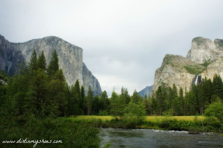 Valley View Viewpoint || Yosemite National Park || Dirt In My Shoes