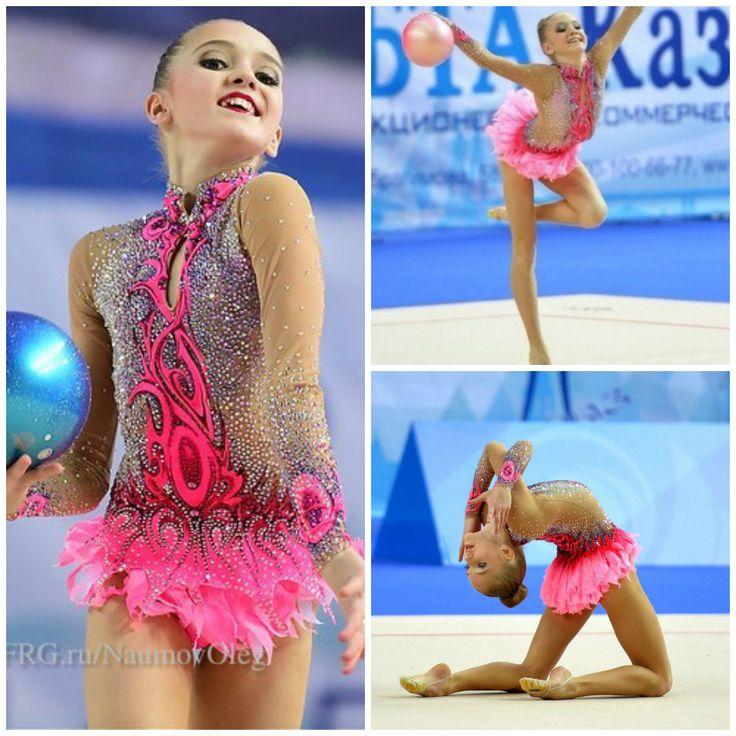 leo in pink (gymnast: Marina Lobanova, Russia)