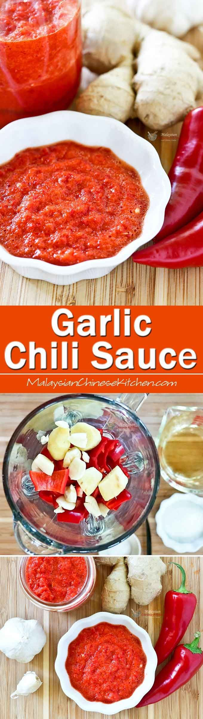 8 Best Sambal Images On Pinterest Cooking Food Indonesian Cuisine Tuk By Rumah Giling This Simple No Cook Garlic Chili Sauce Is A Tasty Condiment To Have Hand