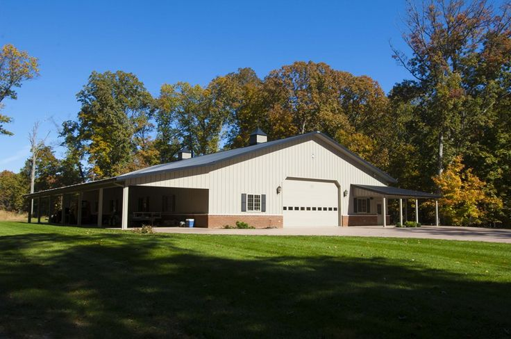 Morton building custom garages and mount vernon on pinterest for Custom garages with living quarters