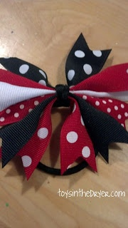Toys In The Dryer--Minnesota Mom and Parenting Blog: Disney Shoes and Hair Bow