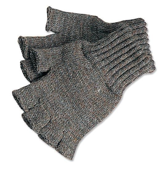 Wool Fingerless Gloves // Keep warm without sacrificing dexterity or trigger control.