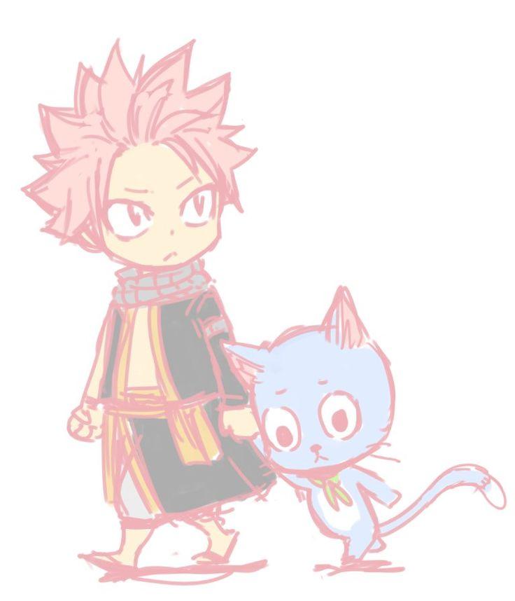 Fairy Tail - Natsu et Happy
