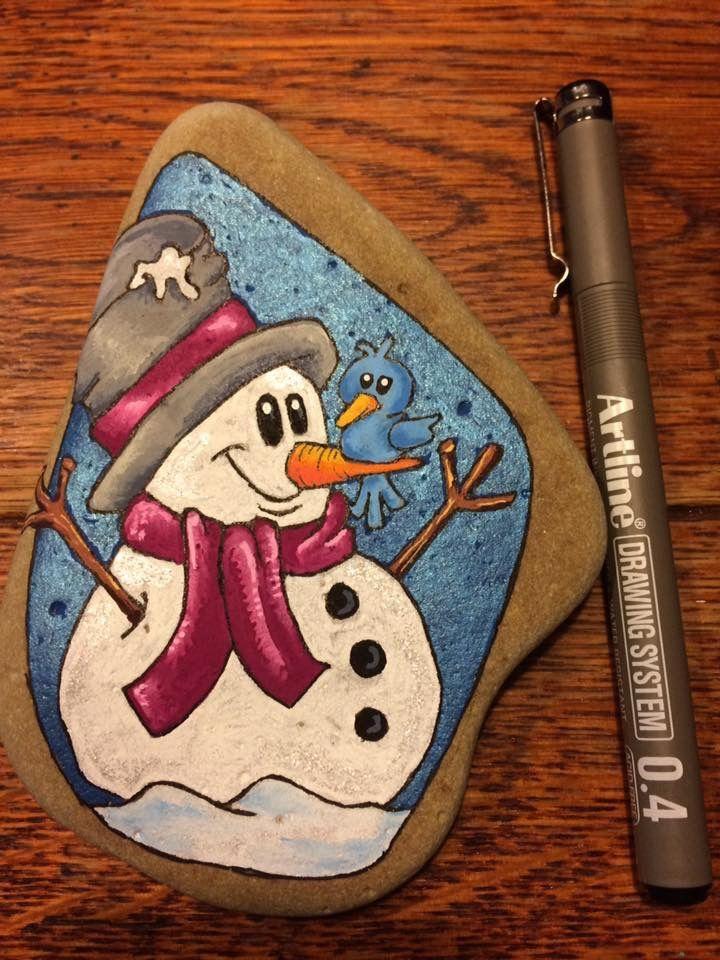 Christmas Rock Painting Designs.50 Diy Christmas Rock Painting Ideas Christmas