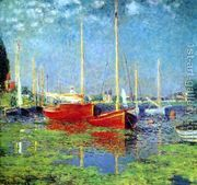 The Red Boats, Argenteuil by Claude Oscar Monet