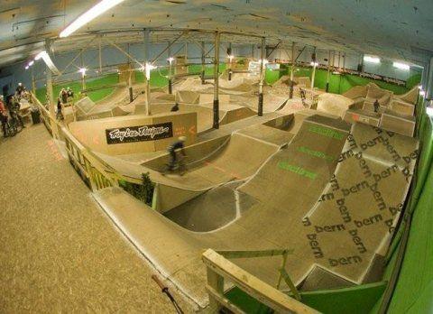 indoor BMX tracks | Wooden Pump Tracks . . . . - Pinkbike Forum