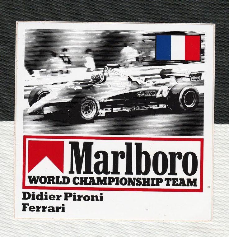 Original Marlboro Ferrari 126c F1 Team Didier Pironi 1982