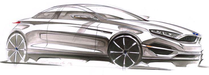 BMW Sketch - By Cesar Zanardo
