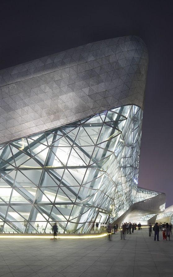 Guangzhou Opera House, Guangzhou, China by Zaha Hadid Architects and Patrik Schumacher #architecture ☮k☮