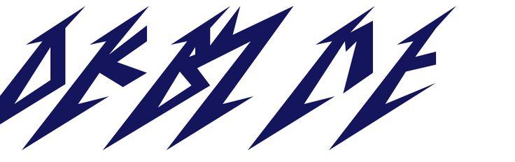 Metallica Font - Metallica Font Generator      words ...