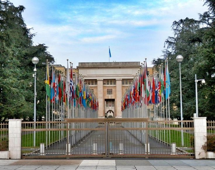 Palais des Nations - The headquarters of the United Nations are located in geneva and are definitely worth visiting