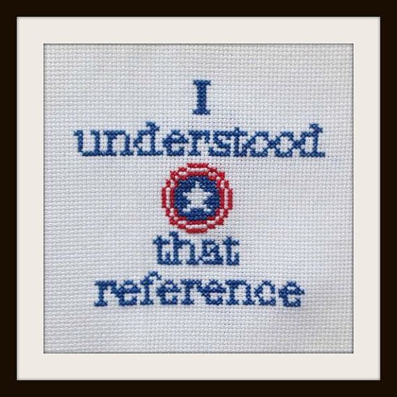 Captain America / Steve Rogers Cross Stitch Pattern by BartsFandomCrafts