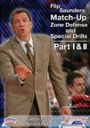 #Basketball DVD - Flip Saunders: Match-Up Zone Defense and Special Drills, Part I - Coach's Clipboard Basketball DVD Store