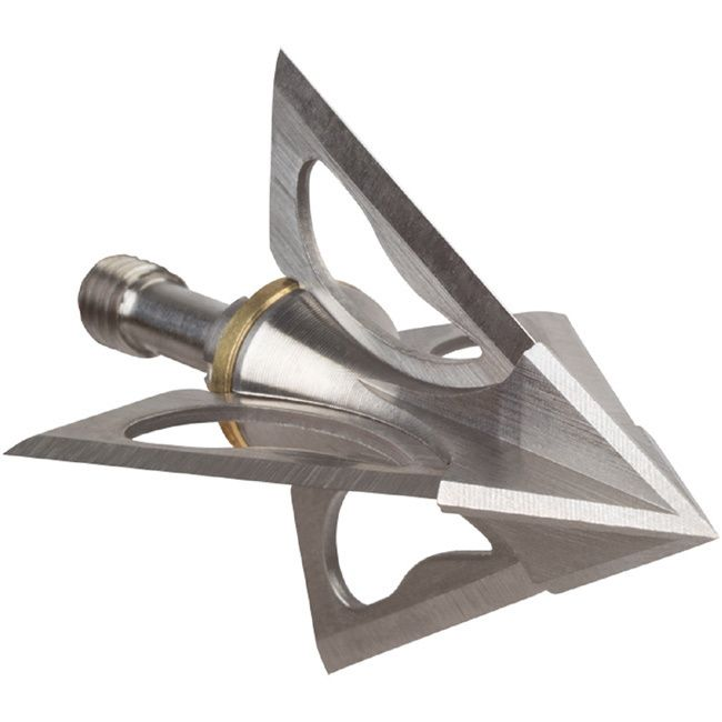 Wac'em Broadheads are made right here in America with top quality stainless steel and industry leading technology. The 1-piece precision machined ferrule and replaceable blades provide bowhunters with