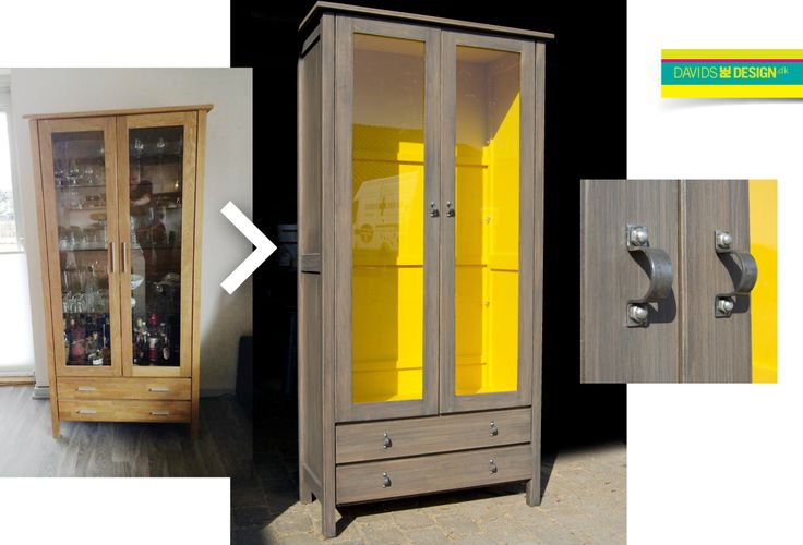 Cabinet, upcycling. Redesign