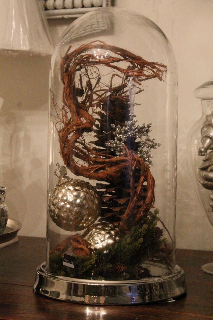 La campana di vetro con decori... info@anaphalis.it