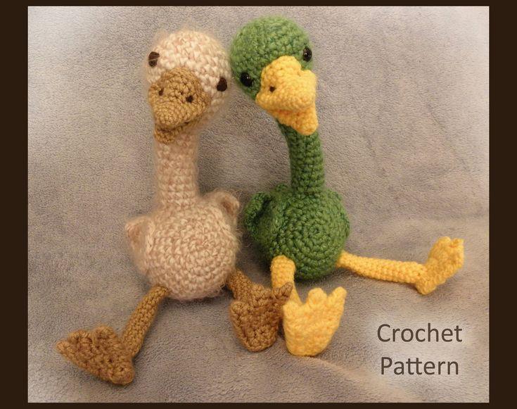 Baby Duckling PDF Crochet Pattern.Etsy.