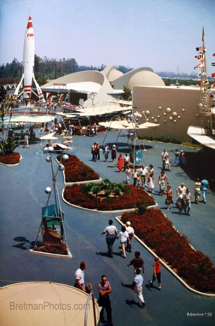 Vintage Disneyland - Tomorrowland