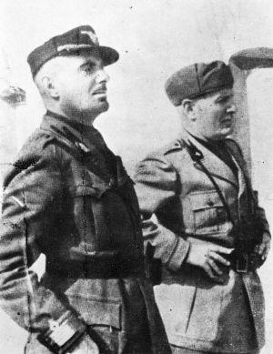 """Merico Zuccari, Comandante della Legione """"Tagliamento""""- Guardia Nazionale Repubblicana, pin by Paolo Marzioli"""