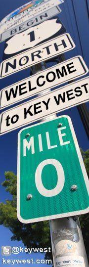The iconic corner of MM 0 - Key West #MarriottCourtyardKeyWest #DreamKeyWestVacation