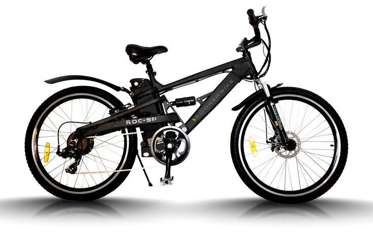 Biciletas eléctrica montaña, mtb doble suspensión,  soonerbike con batería de Lifepo4,