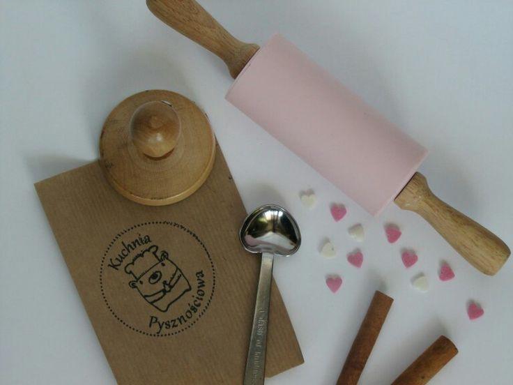 #pieczątka z #logo wykonana dla Kasi z #kuchniapysznosciowa  #stamp Przy okazji polecam bloga Kuchniapysznosciowa.blogspot.com :)