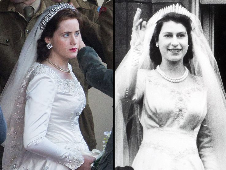 The Crown on Netflix Queen Elizabeth Photos